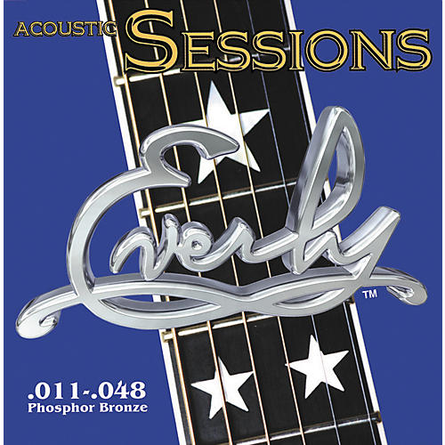 Everly 7211 Acoustic Sessions Phosphor/Bronze Light Acoustic Guitar Strings-thumbnail