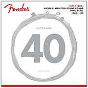 Fender 7250L Super Bass Nickel-Plated Steel Long Scale Bass Strings - Light