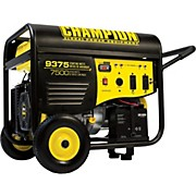 Champion Power Equipment 7500/9375 Watt Portable Gas-Powered Electric Start Generator with 25 foot Power Cord