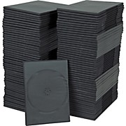 BK Media 7mm Slim DVD Cases 100-pack