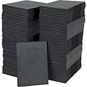 BK Media 7mm Slim DVD Cases 100-pack