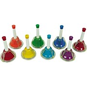 Rhythm Band 8-Note Diatonic Hand/Desk Bell Set