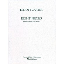 Associated 8 Pieces for 4 Timpani (One Player) Marching Band Percussion Series Composed by Elliott Carter