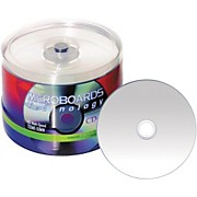 Taiyo Yuden 80 Minute/700 MB CD-R, 52X Silver Inkjet Hub Printable, 100 Disc Spindle