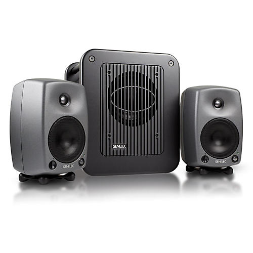 Genelec 8030 LSE Triple Play - Two 8030B Monitors with A 7050B Subwoofer-thumbnail