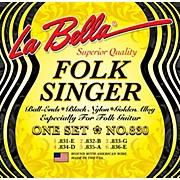 LaBella 830 Folksinger Nylon Guitar Strings