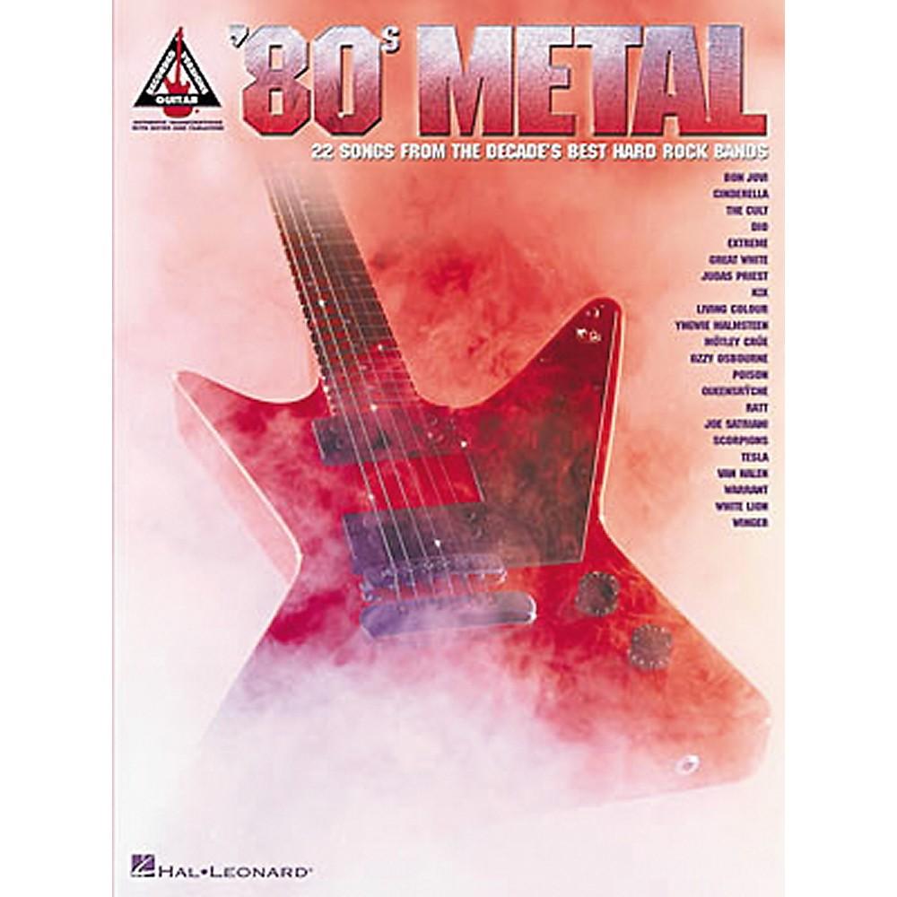 Hal Leonard 80s Metal Guitar Tab Songbook Ebay