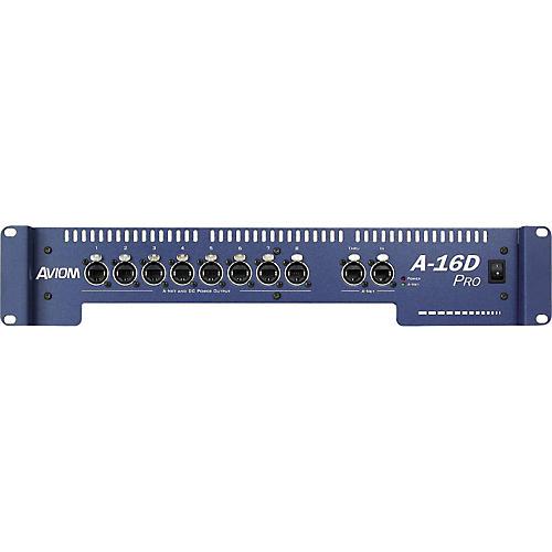 Aviom A-16D Pro A-Net Distributor and DC Power Source-thumbnail