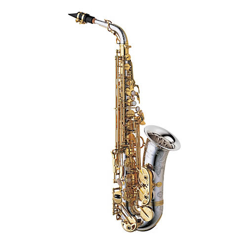 Yanagisawa A-9937 Silver Series Profesional Alto Saxophone All Silver