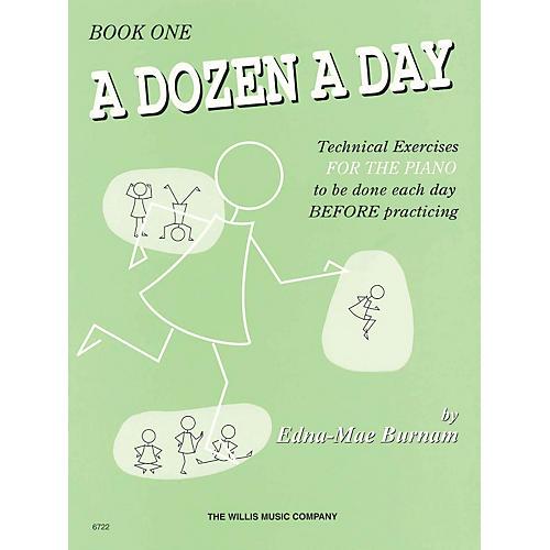 Hal Leonard A Dozen A Day Book 1 (Green cover)-thumbnail