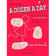 Willis Music A Dozen A Day Book 3 Book/CD Technical Exercises for The Piano