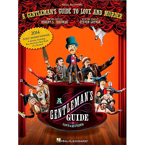 Hal Leonard A Gentleman's Guide To Love & Murder - Piano/Vocal Selections-thumbnail
