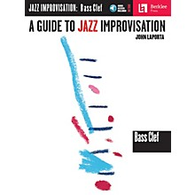 Berklee Press A Guide to Jazz Improvisation (Bass Clef Edition) Berklee Guide Series Softcover with CD by John LaPorta