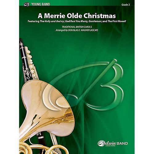 Alfred A Merrie Olde Christmas Concert Band Grade 2 Set-thumbnail