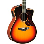 Yamaha A-Series All Solid Wood Concert Acoustic-Electric Guitar with SRT Preamp/Pickup