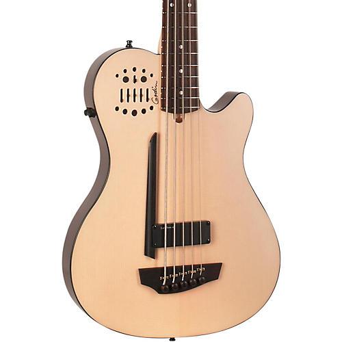 Godin A5 Ultra Natural SA 5-String Acoustic-Electric Bass Guitar-thumbnail