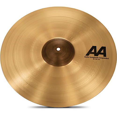 Sabian AA Molto Symphonic Series Suspended Cymbal 18 in.-thumbnail