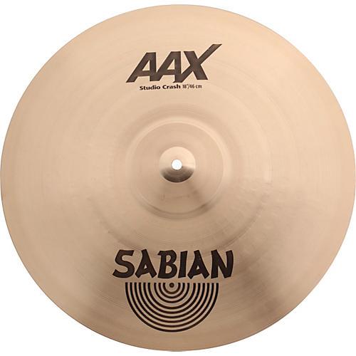 Sabian AAX Series Studio Crash Cymbal