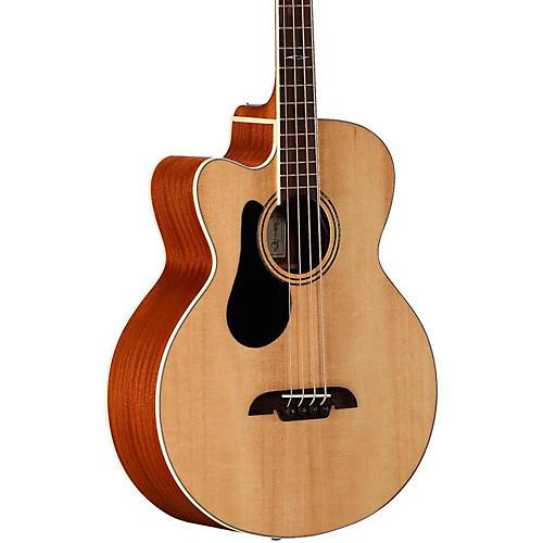 Alvarez AB60LCE Left-Handed Acoustic-Electric Bass Guitar-thumbnail