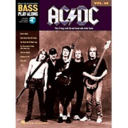Music Sales AC/DC - Bass Play-Along Volume 40 (Book/CD)