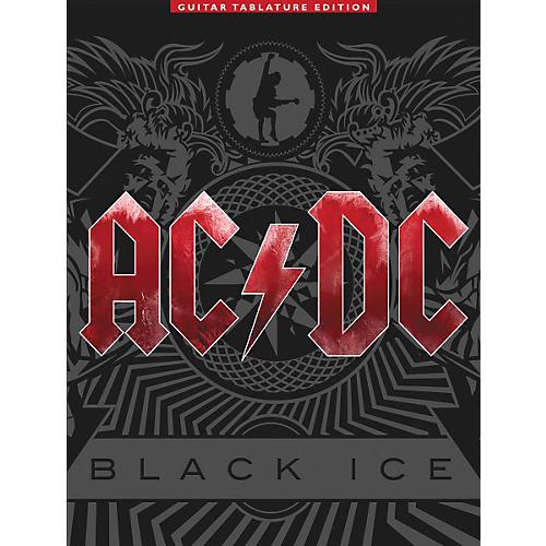 Music Sales AC/DC - Black Ice Guitar Tab Songbook