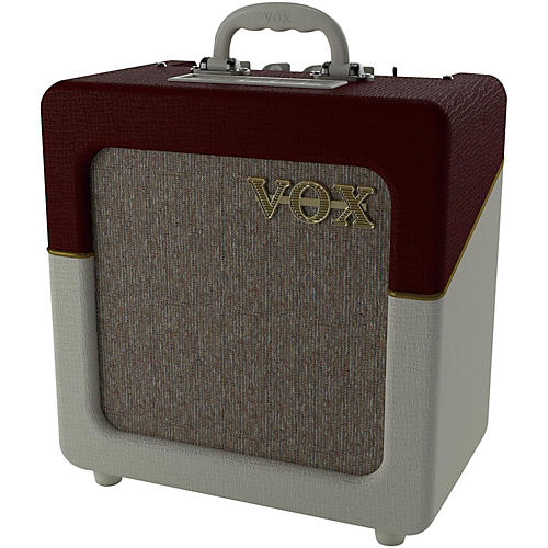 Vox AC4 Limited 4W 1x10 Tube Two Tone TV Front Guitar Combo Amp-thumbnail
