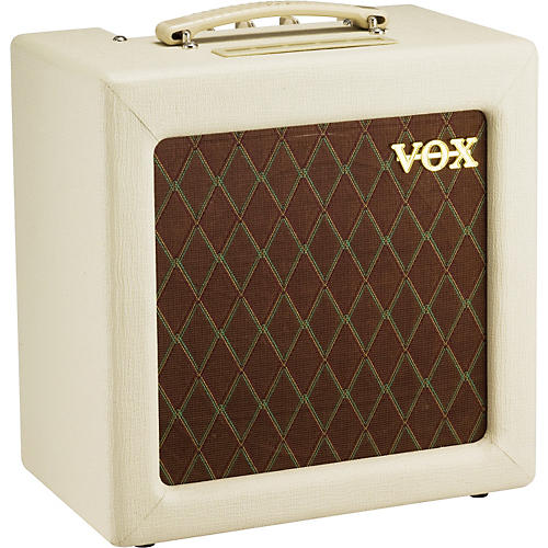 Vox AC4TV 4W 1x10 Tube Guitar Combo Amp Cream