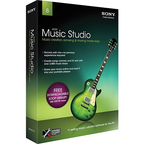Sony ACID Music Studio 8.0 - 2011-thumbnail
