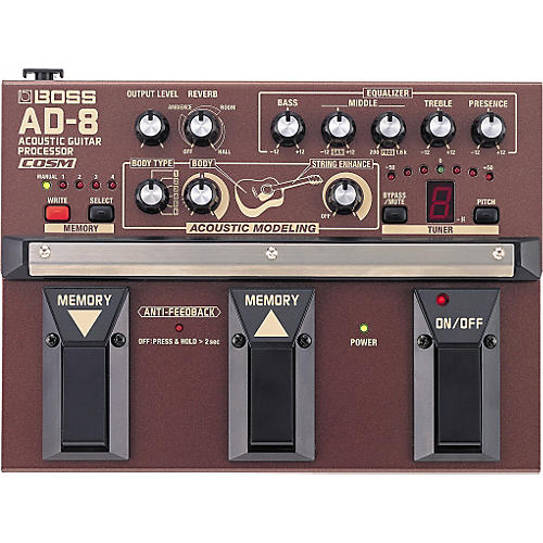Boss AD-8 Acoustic Guitar Multi-Effects Pedal-thumbnail