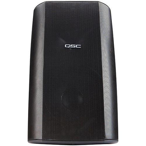 QSC AD-S82H Surface Mount Loudspeaker - Black-thumbnail