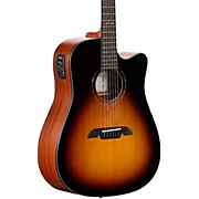 Alvarez AD610CESB Dreadnought Acoustic-Electric Guitar