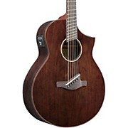Ibanez AEW40FFCDNT Walnut Multi-Scale Acousitc-Electric Guitar