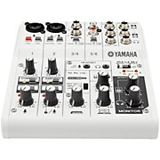 Yamaha AG06 6-Channel Mixer/USB Interface For IOS/MAC/PC