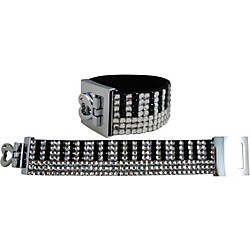 AIM Crystal Keyboard Bracelet (7-Row) (69616)
