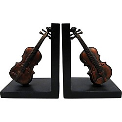 AIM Violin Bookends (5243)