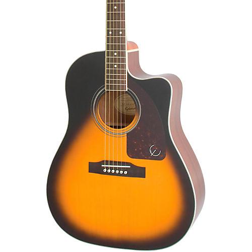 Epiphone AJ-220SCE Acoustic-Electric Guitar Vintage Sunburst-thumbnail