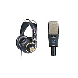 AKG C414 XLS and K240 Mic and Headphone Package (AKGC414K240BUNDLE)