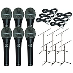 AKG D8000M with Cable and Stand 6 Pack (D8000M6Pack)