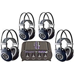 AKG Headamp 4/K99 Headphone Four Pack (KIT797215)
