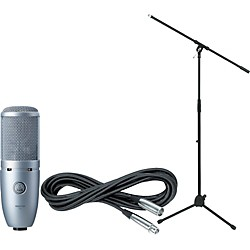 AKG Perception 120 Condenser Mic with Cable and Stand (PERCEPTION120CABLESTAND)
