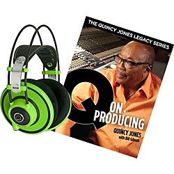 AKG Quincy Jones Q701 Headphones with Q on Producing Book (Q701QONPRODUCING)
