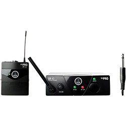 AKG WMS 40 Mini Instrument Wireless System Ch A with D8000M Handheld (WMS40MiniInst ChA D8000M)