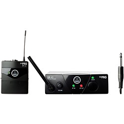 AKG WMS 40 Mini Instrument Wireless System Ch C with D8000M Handheld (WMS40MiniInst ChC D8000M)