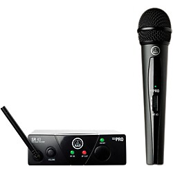 AKG WMS 40 Mini Vocal Wireless System Ch B with D8000M Handheld (WMS40MiniVocal ChB D8000M)