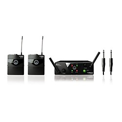 AKG WMS 40 Mini2 Instrument Wireless Microphone Set (3351H00020)