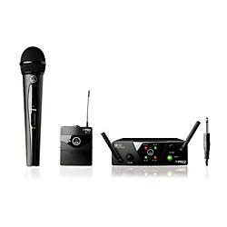 AKG WMS 40 Mini2 Vocal/Instrument Wireless Microphone Set (3352H00020)