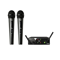 AKG WMS 40 Mini2 Vocal Wireless Microphone Set (3350H00020)