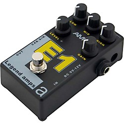 AMT Electronics Legend Amps Series E1 Distortion Guitar Effects Pedal (LAS-E1)