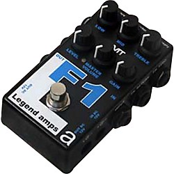 AMT Electronics Legend Amps Series F1 Distortion Guitar Effects Pedal (LAS-F1)