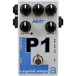 AMT Electronics Legend Amps Series P1 Distortion Guitar Effects Pedal (LAS-P1)
